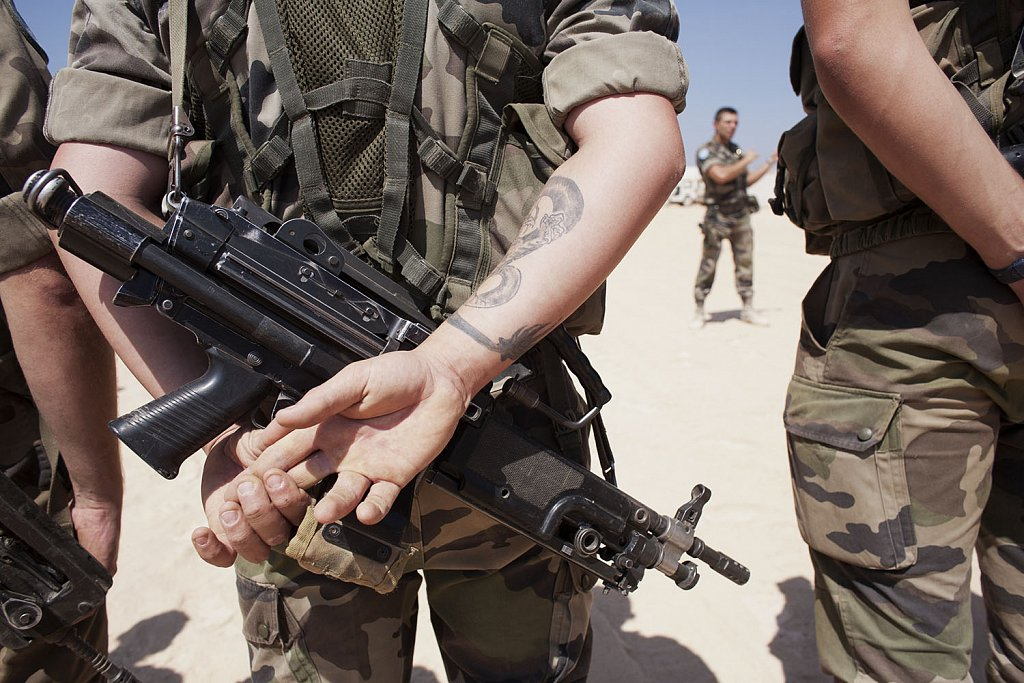 UNIFIL (UN) troops in Southern Lebanon French batallion